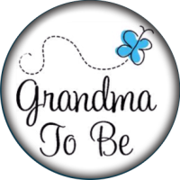 Snap Jewelry Glass - Grandma to Be