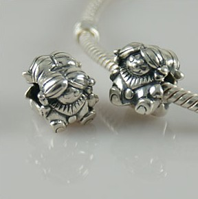 Charm 925 Silver - Girl