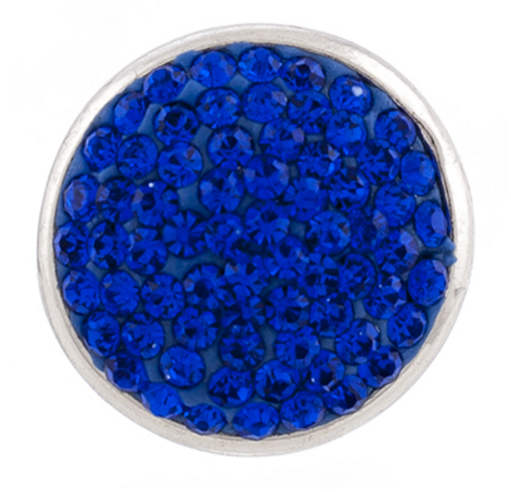 Snap Jewelry Crystal - Solid Blue