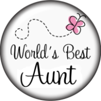Snap Glass Jewelry - World's Best Aunt