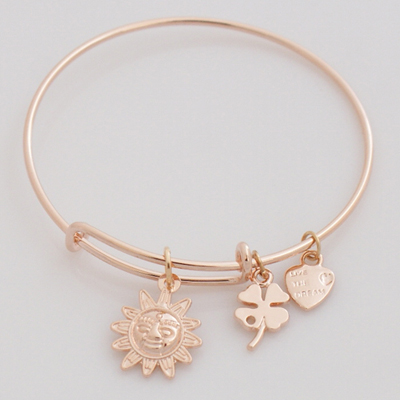 A&A Bracelet - Sun Rose Gold Plated