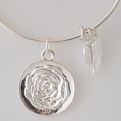 A&A Bracelet - Rose Silver Plated