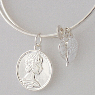 A&A Bracelet - Coin Silver Plated