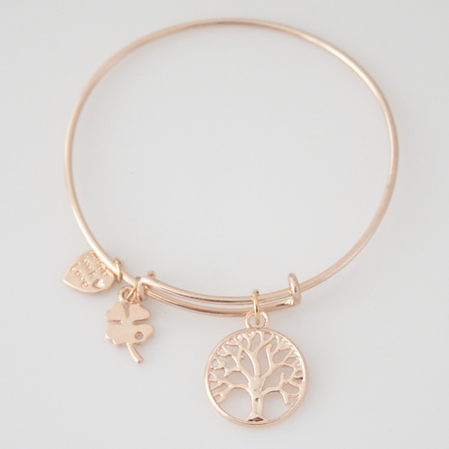 A&A Bracelet - Tree of Life - Rose Gold Plated