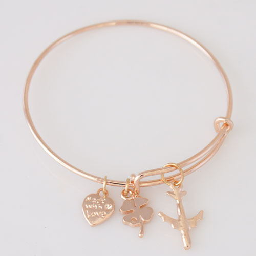 A&A Bracelet - Airplane Rose