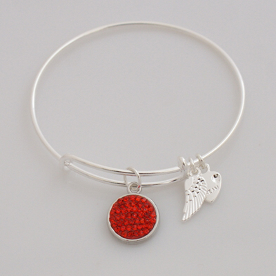 A&A Inspired Crystal Bracelet - Red