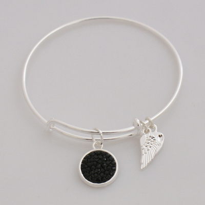 A&A Inspired Crystal Bracelet - Black