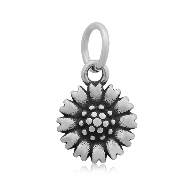 11*20mm Small Stainless Steel Charm - Flower