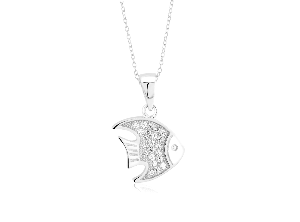 925 - Sterling - Fish Small Pendant