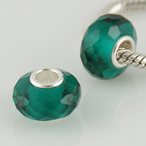 925 Crystal Beads - Teal