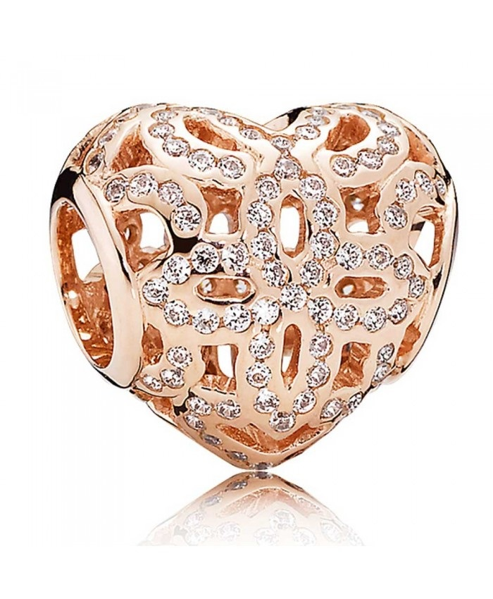 Charm 925 - Rose Gold Love and Appreciation