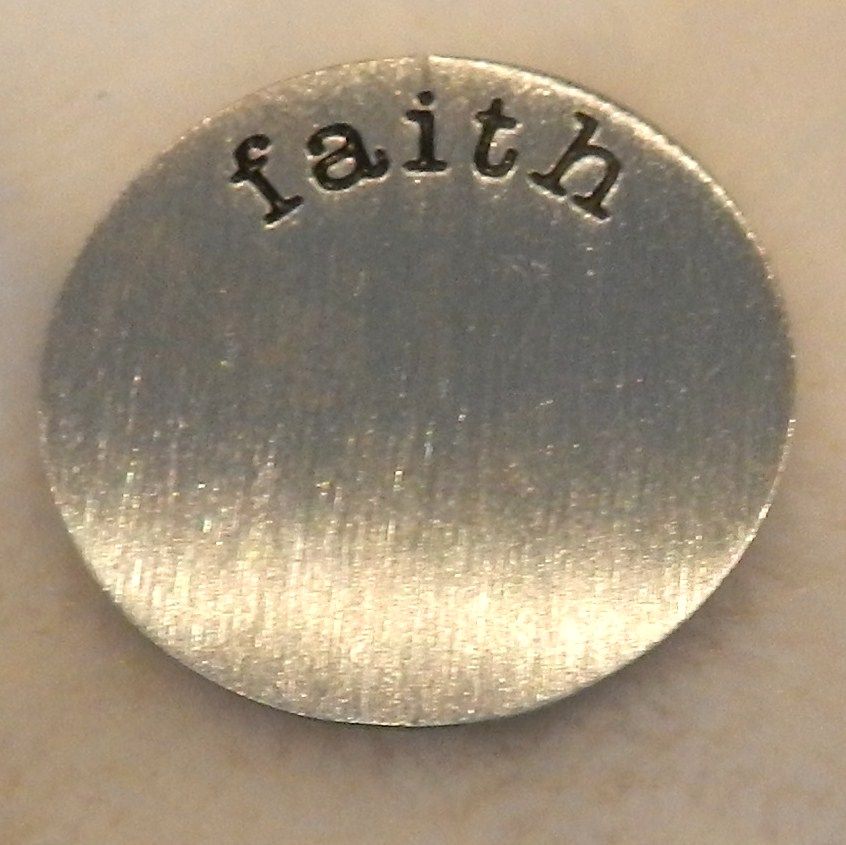 Memory Locket Plates Faith