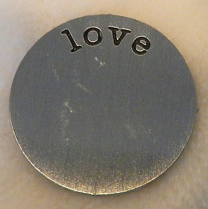 Memory Locket Plates Love