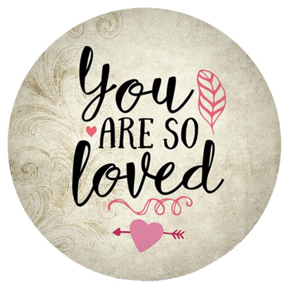 Snap Jewelry Enamel Ceramic - You Are So Loved