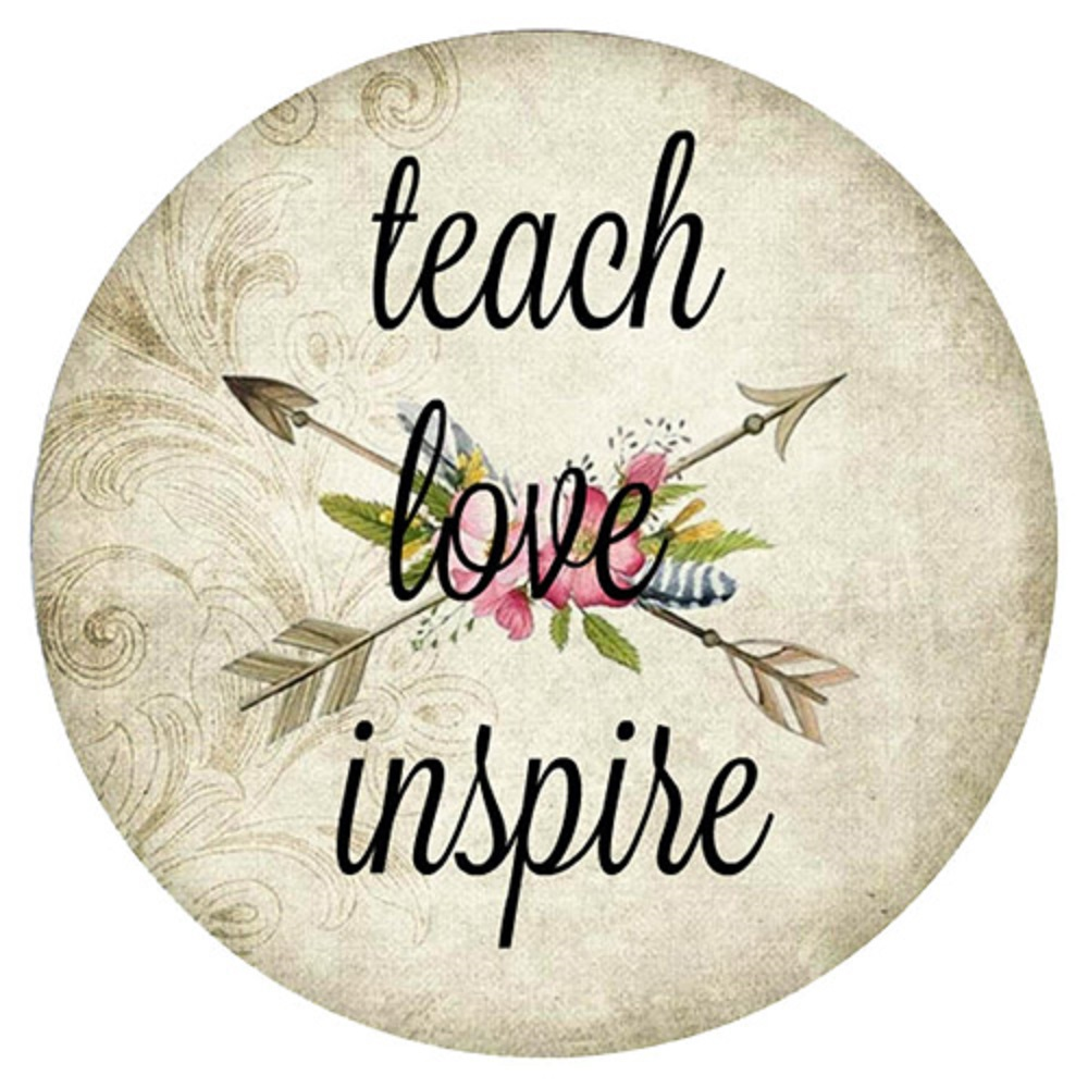 Snap Jewelry Enamel Ceramic - Teach Love Inspire
