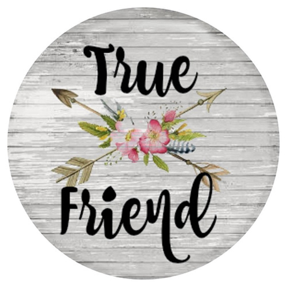 Snap Jewelry Enamel Ceramic - True Friend