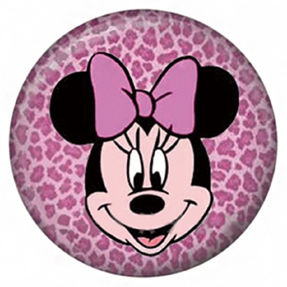 Snap Jewelry Enamel Ceramic - Mouse in Pink Bow