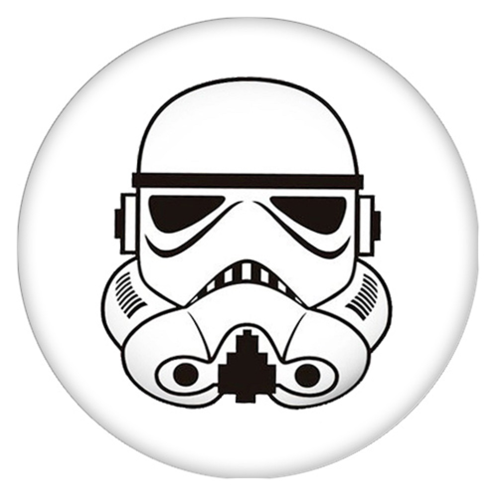 Snap Jewelry Enamel Ceramic - Star Wars Storm Troopers