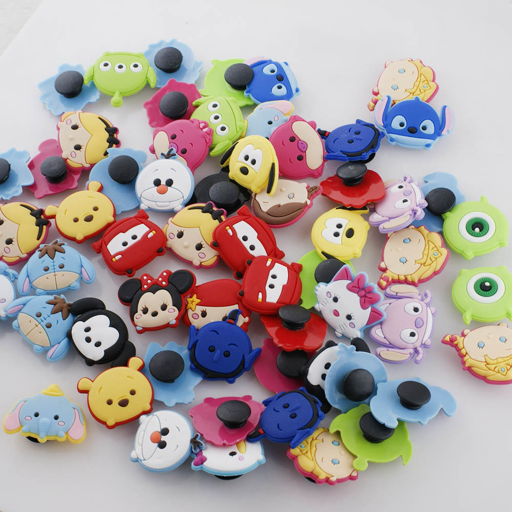 Children' Style Snap 10 pc Cartoon Pack Fits JCH3000 Bracelet