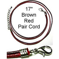 Red and Burgandy Dual Cord