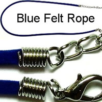 Dark Blue Felt Rope