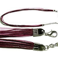 "18"" Burgundy Short Ribbon"