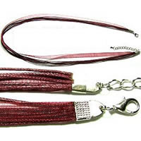 "18"" Cranberry Short Ribbon"