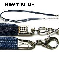 "18"" Navy Blue Short Ribbon"