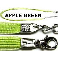 "18"" Apple Green Short Ribbon"