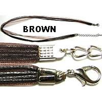 "18"" Brown Short Ribbon"