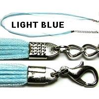 "18"" Light Blue Short Ribbon"