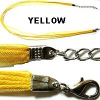 "18"" Yellow Short Ribbon"