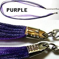 "18"" Purple Short Ribbon"
