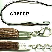 "18"" Copper Short Ribbon"