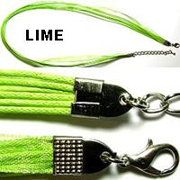 "18"" Lime Short Ribbon"