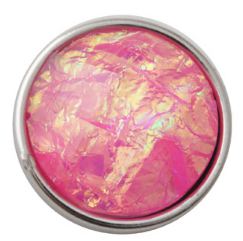Snap Dichroic Jewelry - Pink