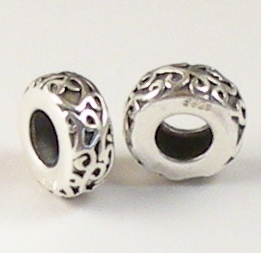 Charm 925 - Marcasite Spacer