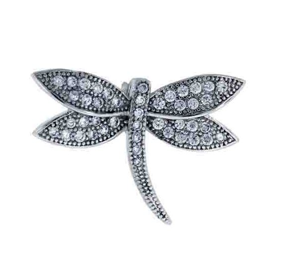 925 - Sterling - Dragonfly Small Pendant