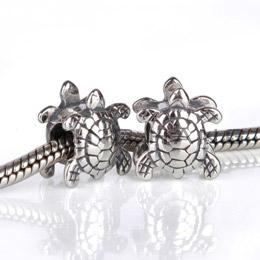 Charm 925 Silver - Turtle