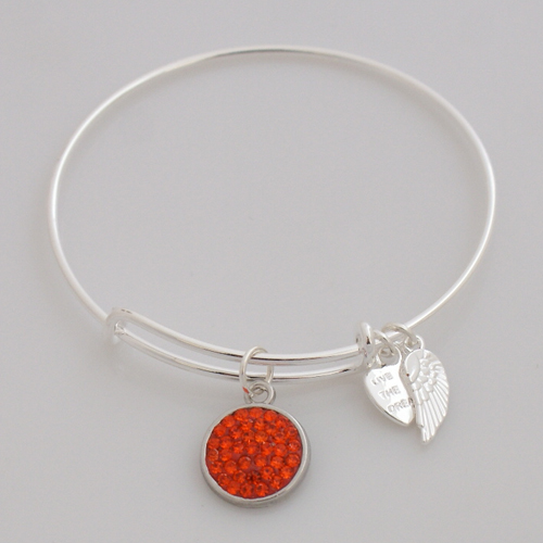 A&A Inspired Crystal Bracelet - Orange