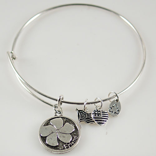A&A Bracelet - Friend Flower Silver Plated