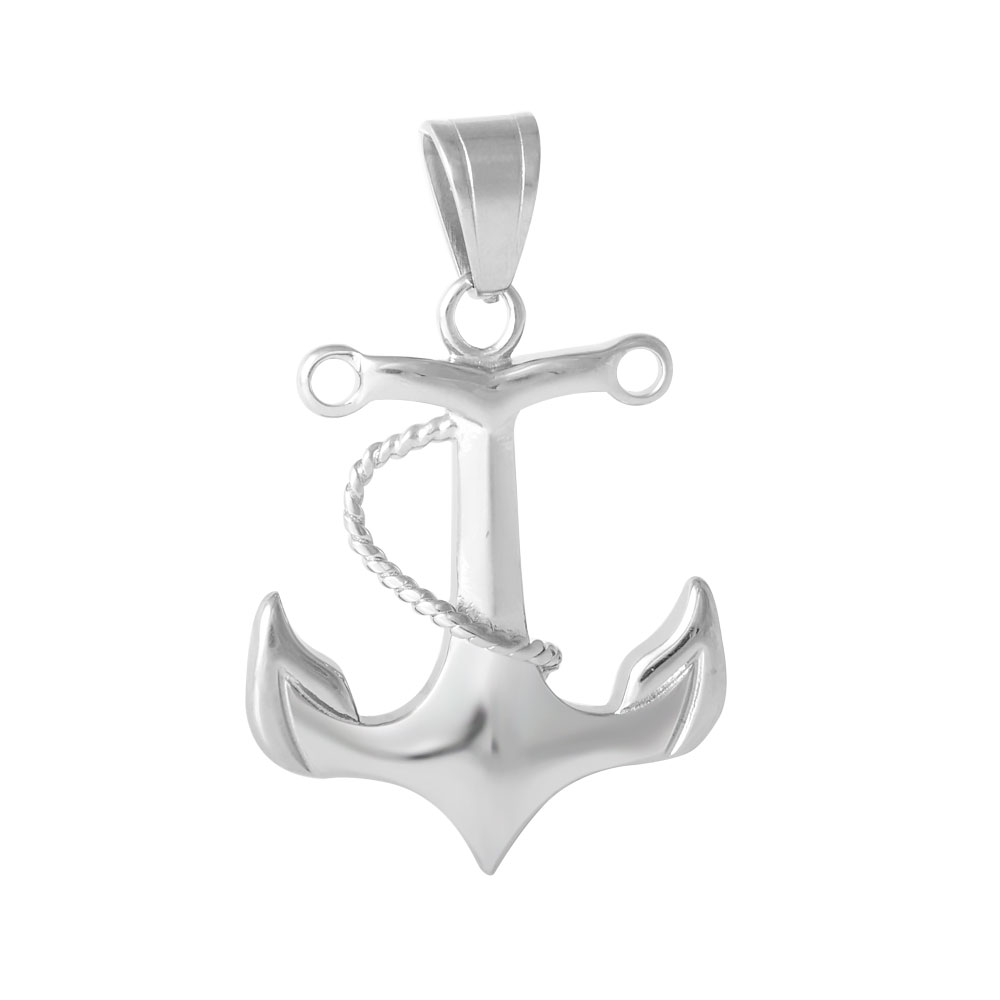 XLarge Stainless Steel Charm 32*47mm - Anchor