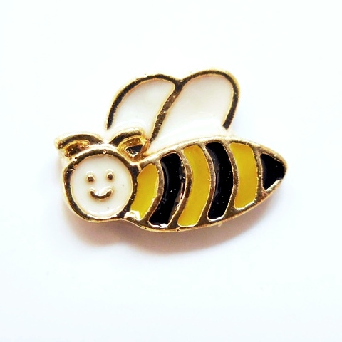 Memory Locket Charms Bee