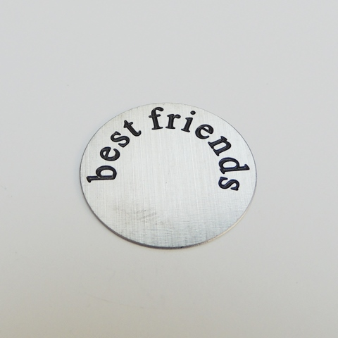 Memory Locket Plates Best Friends