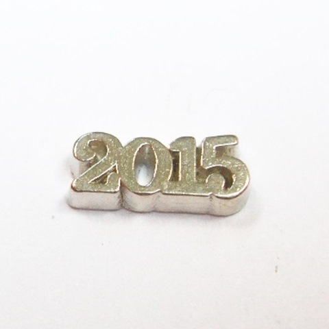 Memory Locket Charms 2015 Silver