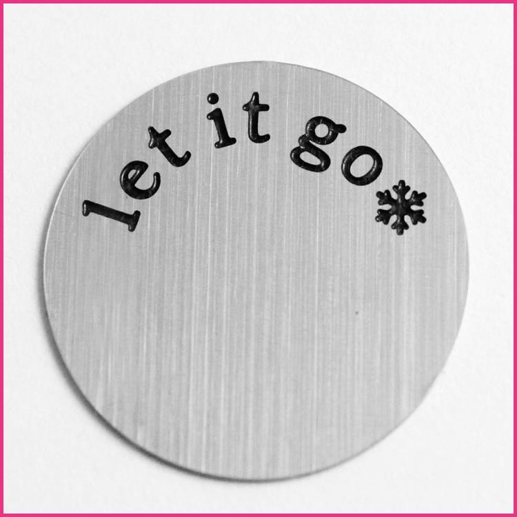 Memory Locket Plates Let It Go *