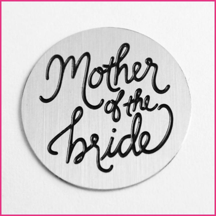 Memory Locket Plates Mother of the Bride