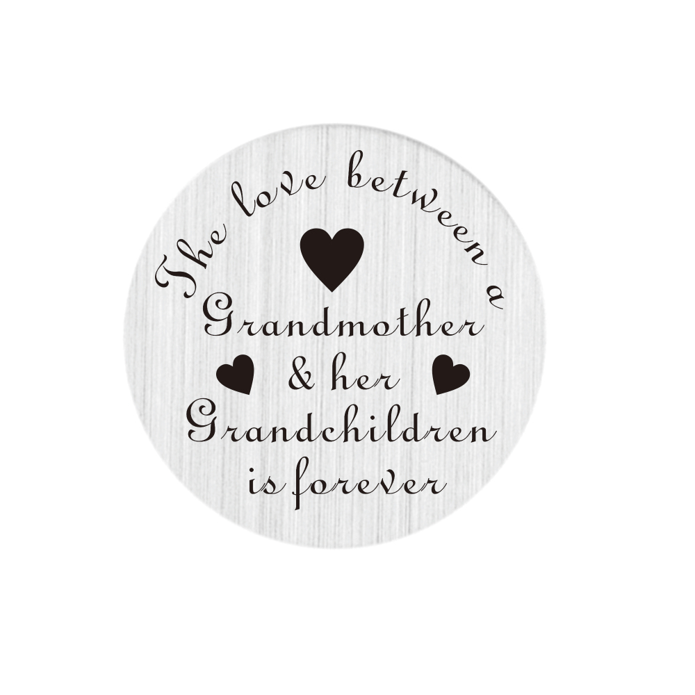 Memory Locket Plates - The love between a Grandmother