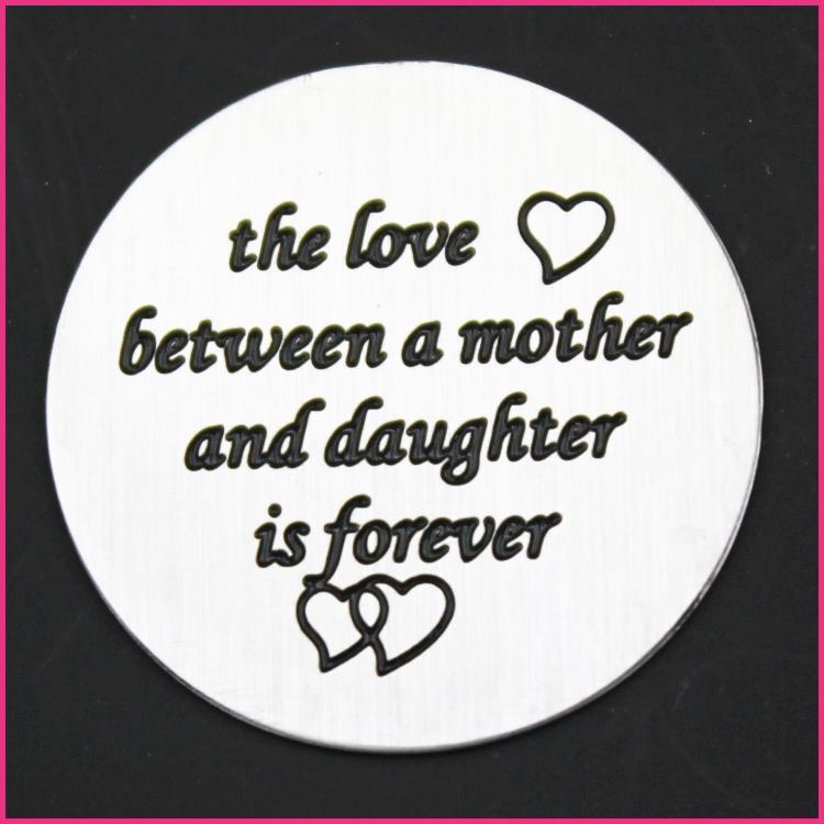 Memory Locket Plates The Love between a Mother & Daughter