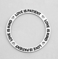 Memory Locket Plates Faith, Hope & Love
